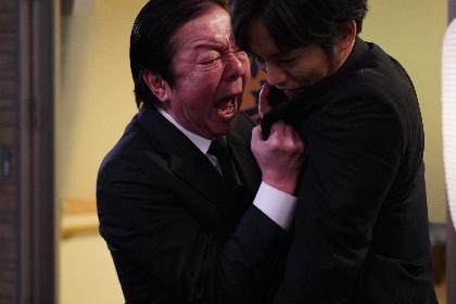 古田新太と松坂桃李が「ものすごく嫌な感じの芝居」の裏側を語る 映画『空白』メイキング&インタビュー映像を公開