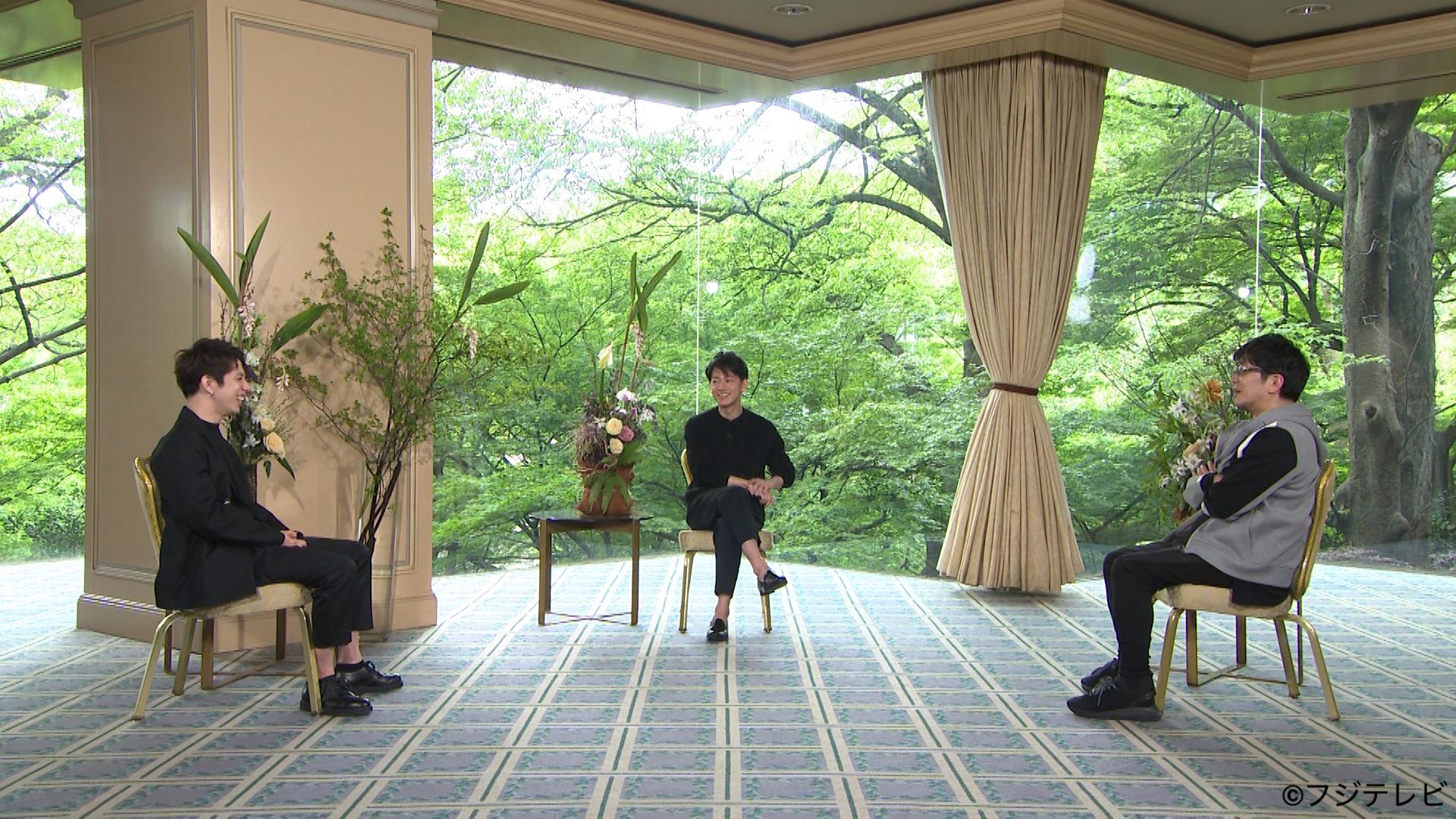 左から、Taka(ONE OK ROCK)、佐藤健、大友啓史監督 『ボクらの時代』より