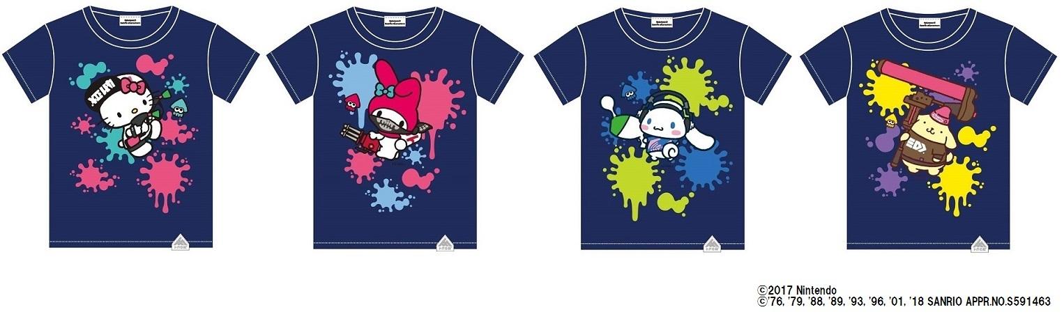 限定Tシャツ4種