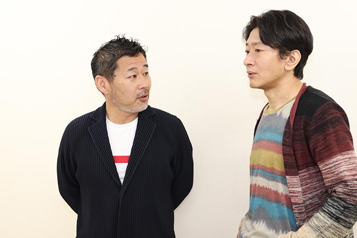 (左から)藤村忠寿、大内厚雄