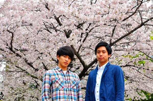 (左から)井上拓哉、中山義紘  撮影:吉永美和子