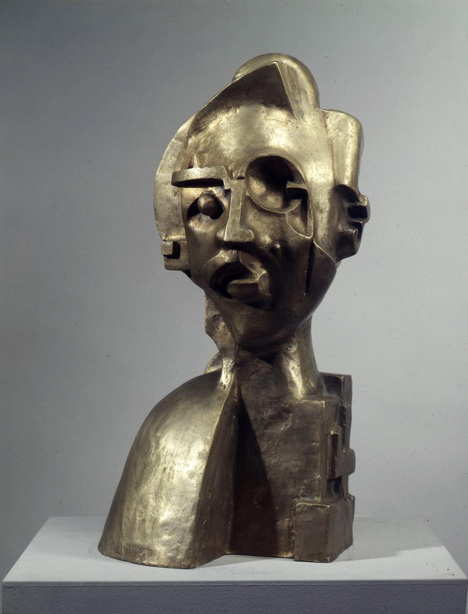仲田定之助《首》1924 年 東京国立近代美術館