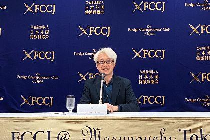 「稲垣吾郎さんはどこか松田優作さんを思わせる」と記者からの指摘も 映画『ばるぼら』手塚眞監督が日本外国特派員協会で会見