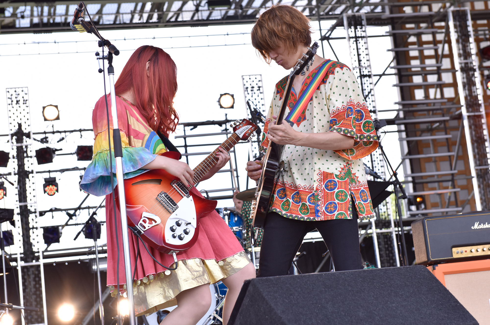 GLIM SPANKY Photo by 古溪一道