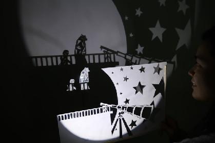 人形劇団望ノ社「Shadow Kingdom」影絵で影の王国を描く