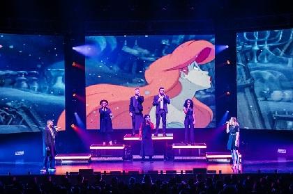 ディズニー初の公式アカペラグループ「ディカペラ(DCappella)」の全国ツアーが再び開催決定