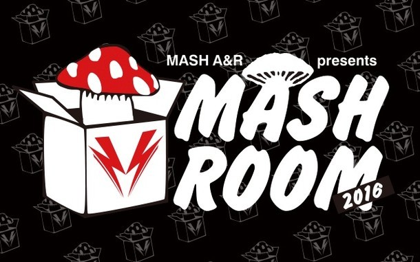 「MASH A&R presents MASHROOM 2016」ロゴ
