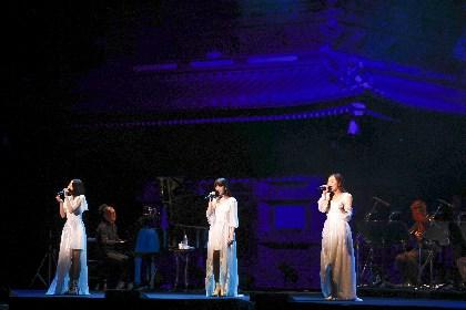 Kalafina、世界遺産・日光東照宮での初ライブで14曲を熱唱 涙を流すファンの姿も
