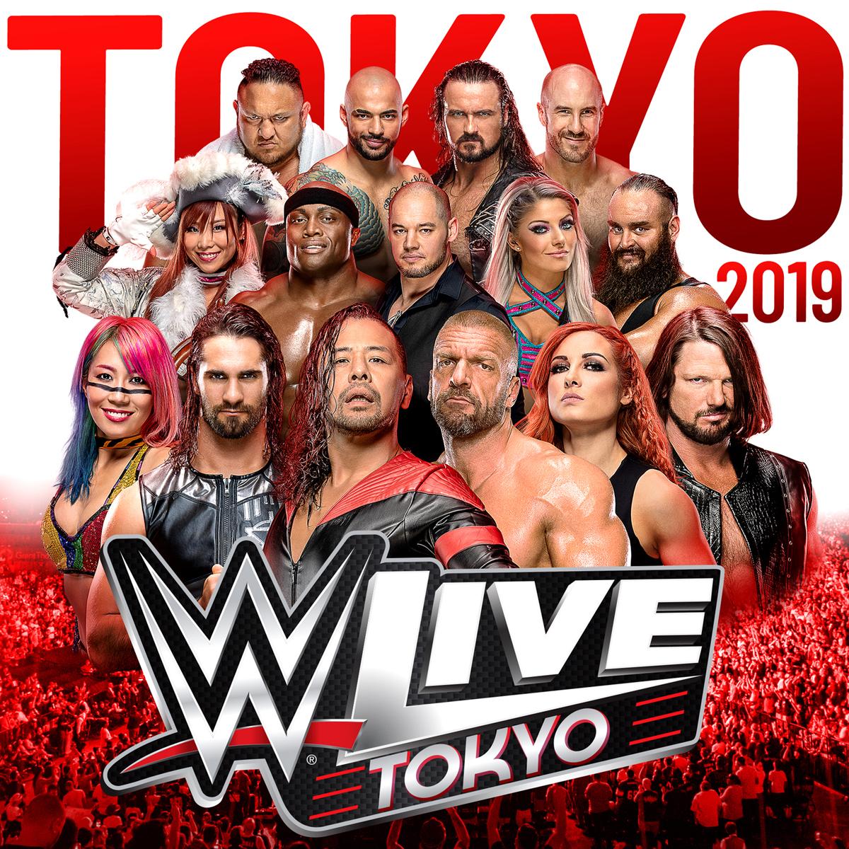 『WWE Live Tokyo』は6月28日(金)開幕