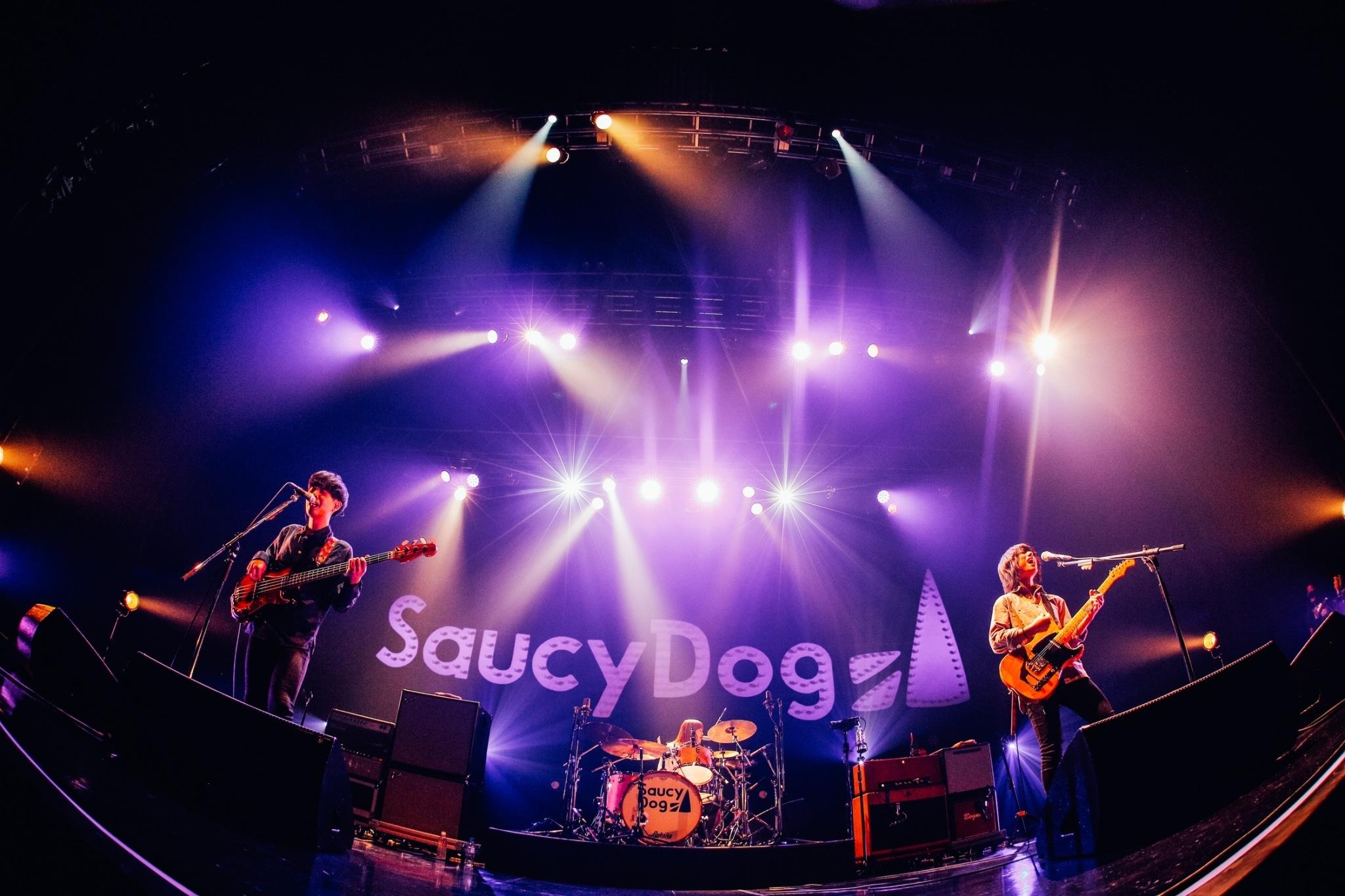 "Saucy Dog 撮影=日吉""JP""純平"