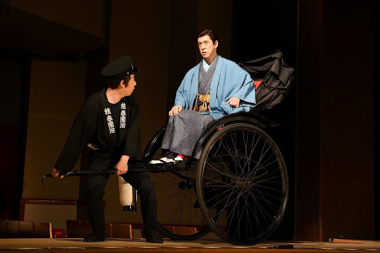 『おあきと春団治〜お姉ちゃんにまかしとき〜』舞台写真 (右)西川忠志 /(C)松竹