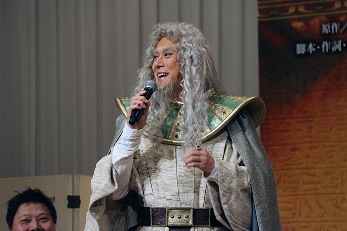「祐さま」トーク、本日も絶好調! 山口祐一郎 ミュージカル「王家の紋章」