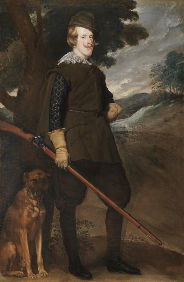 ディエゴ・ベラスケス《狩猟服姿のフェリペ4世》1632-34年 マドリード、プラド美術館蔵 © Museo Nacional del Prado