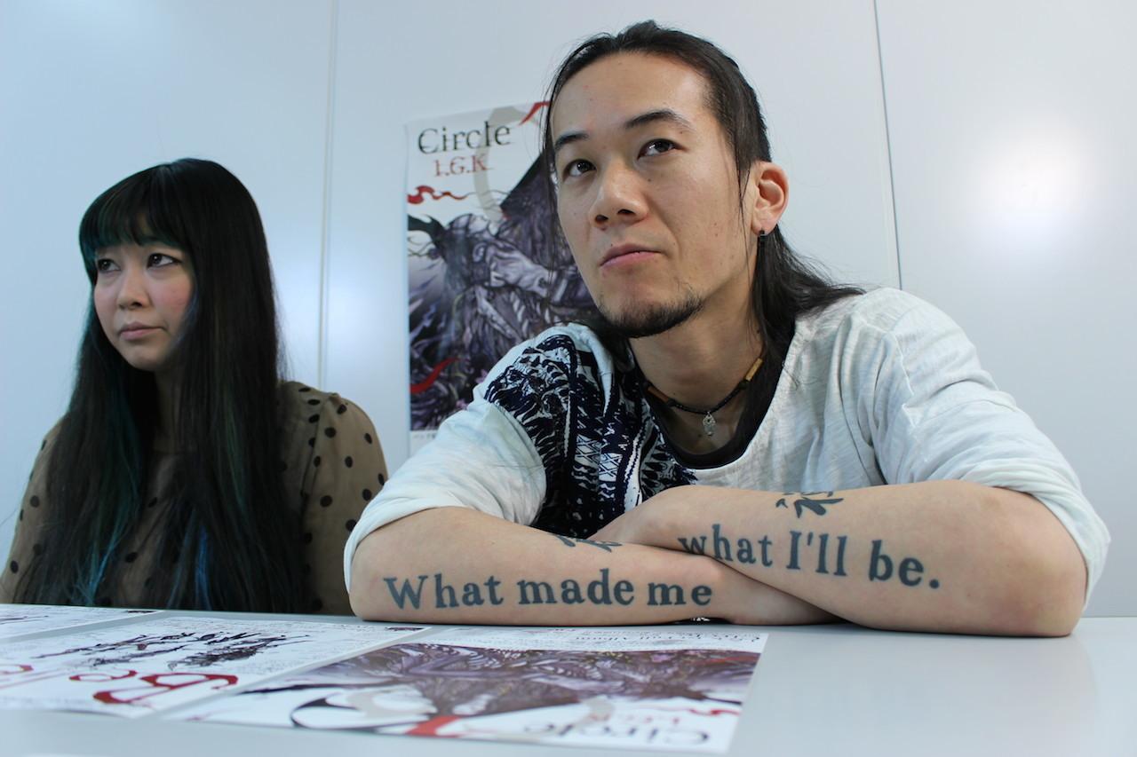 ME(左)・KATSU(右)