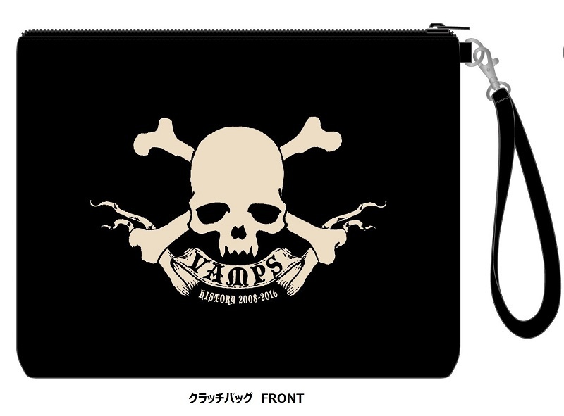 VAMPS クラッチバッグ(FRONT)