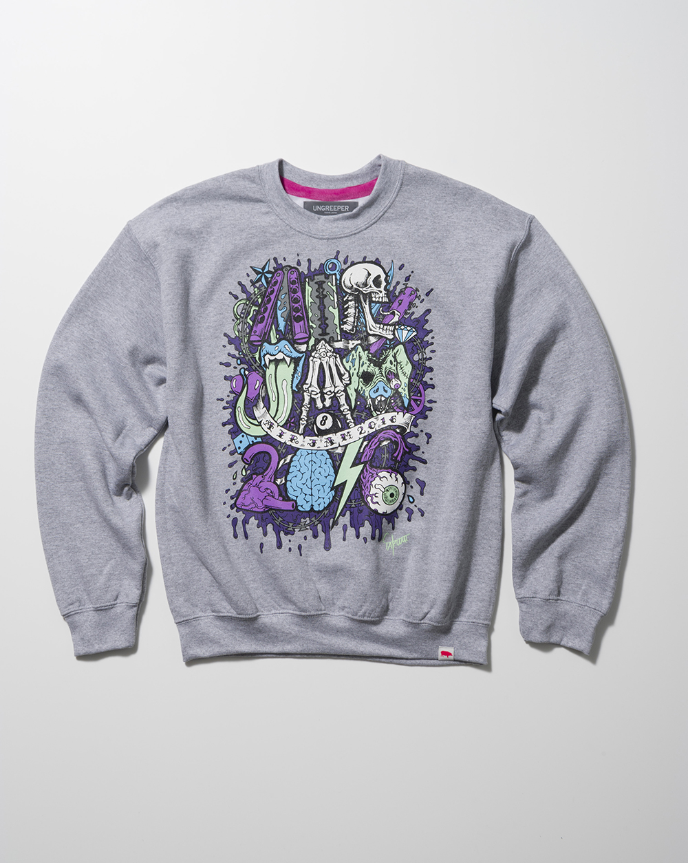 AIR JAM×UNGREEPER CREW-NECK(UG COL)