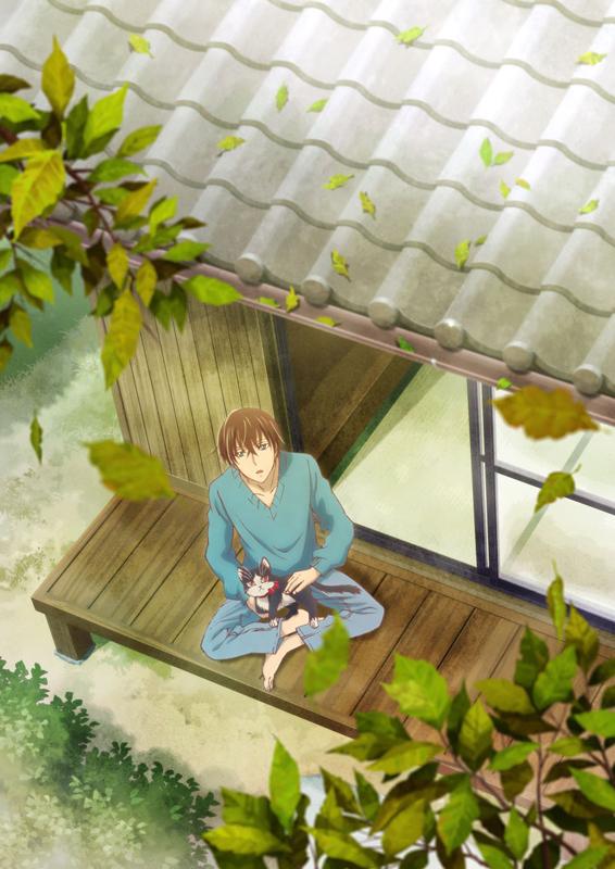 TVアニメ『同居人はひざ、時々、頭のうえ。』ティザービジュアル (c)みなつき・二ツ家あす・COMICポラリス/ひざうえ製作委員会