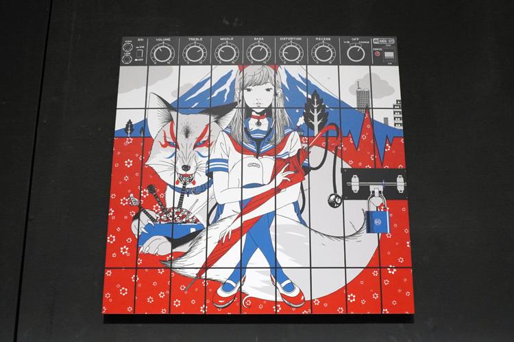 ASIAN KUNG-FU GENERATION「ブラッドサーキュレーター」ジャケット 完成版のイラスト