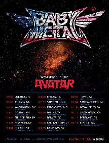 BABYMETALが秋にアメリカツアー、フェス出演含む20公演