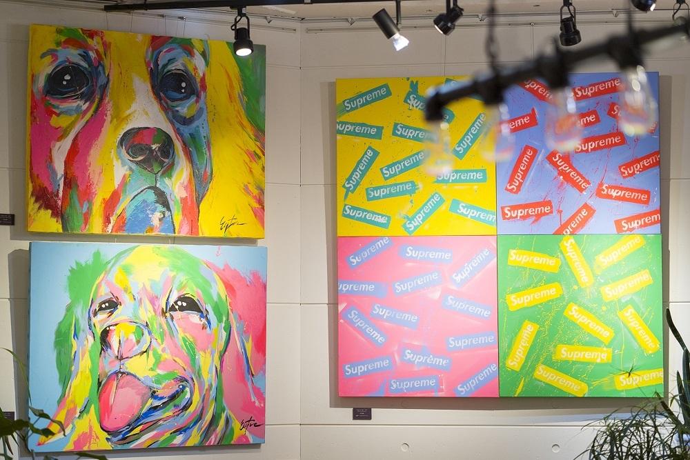 DOG ART展 展示作品