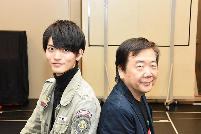 (左から)山本涼介、鴻上尚史