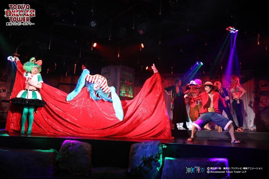 現在公演中「ONE PIECE LIVE ATTRACTION〝3〟『PHANTOM』」の様子