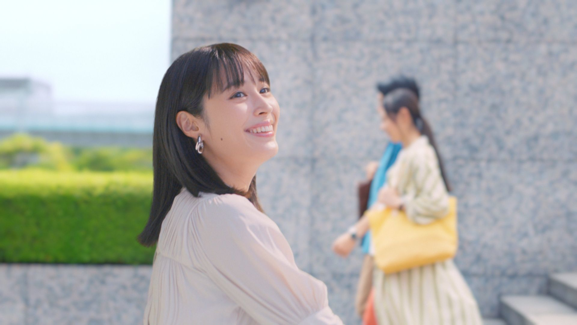 広瀬アリス 日清オイリオ新CM『Hop Step MCT 毎日が運動だ。階段』篇