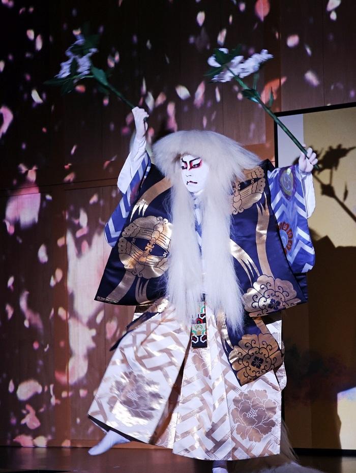 歌舞伎『石橋』尾上菊之助