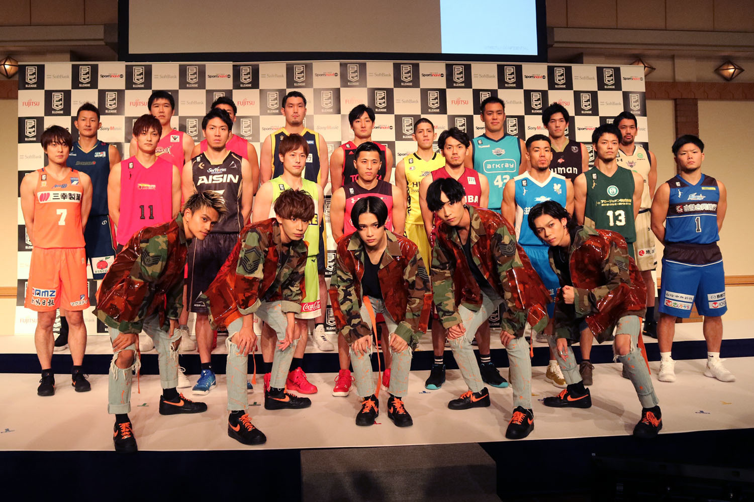 B.LEAGUE×FlowBack