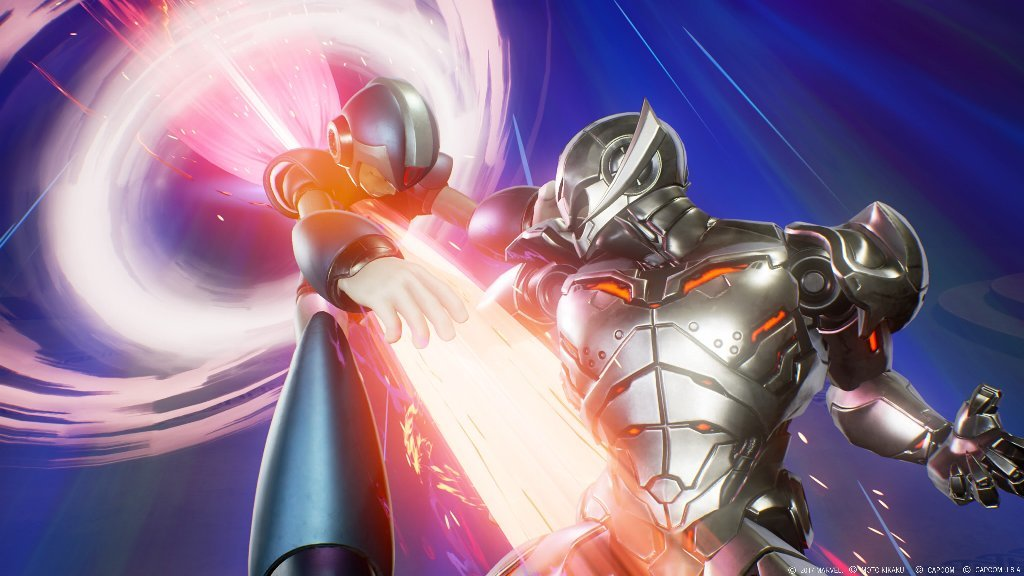 (左から)X、ウルトロン (C)2017 MARVEL (C)モト企画 (C)CAPCOM CO., LTD. , (C)CAPCOM U.S.A., INC. ALL RIGHTS RESERVED.