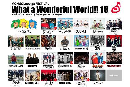 MONGOL800主催『WWW!!18』、第5弾発表でBRAHMAN、EGO-WRAPPIN'、Mighty Crownら5組が追加