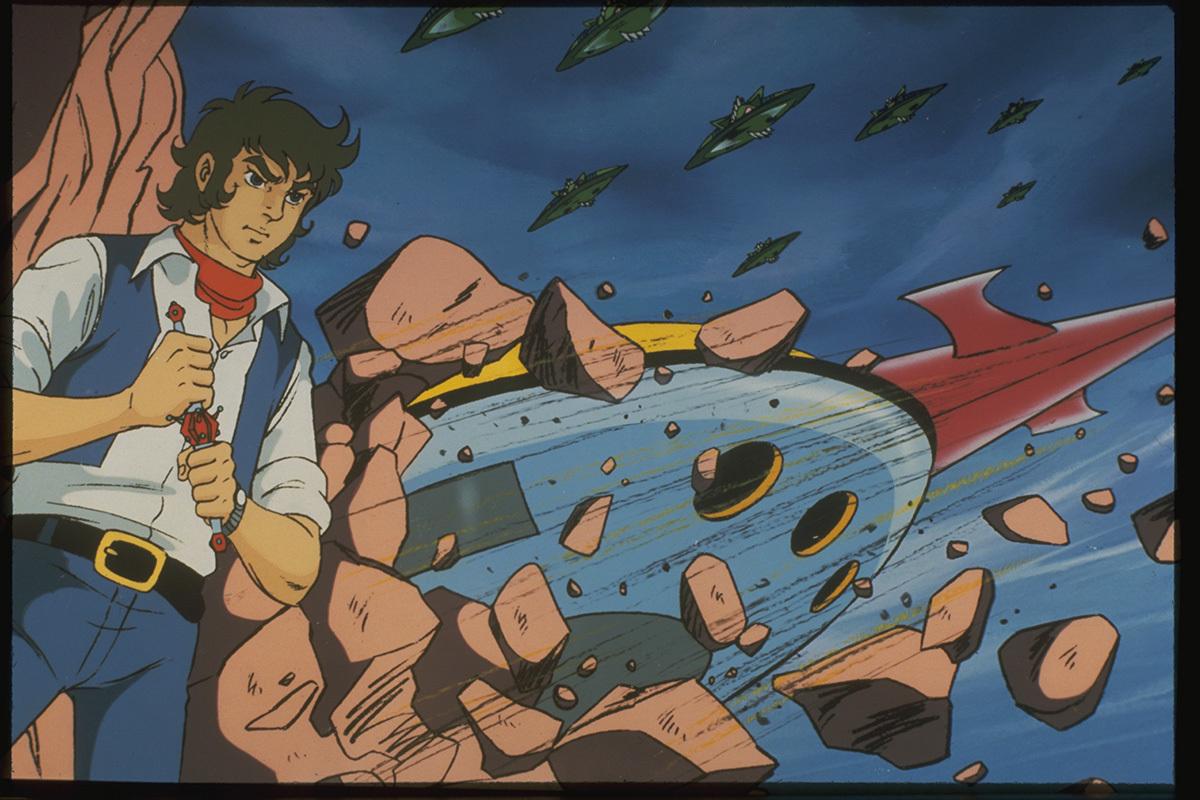 『宇宙円盤大戦争』(1975年) (C)ダイナミック企画・東映アニメーション
