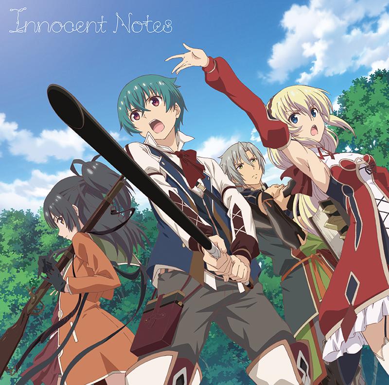 竹達彩奈 11thSG「Innocent Notes」アニメ盤ジャケット