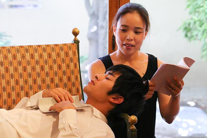 7月『男女逆転版・痴人の愛』リーディング公演より(写真:宮川舞子)