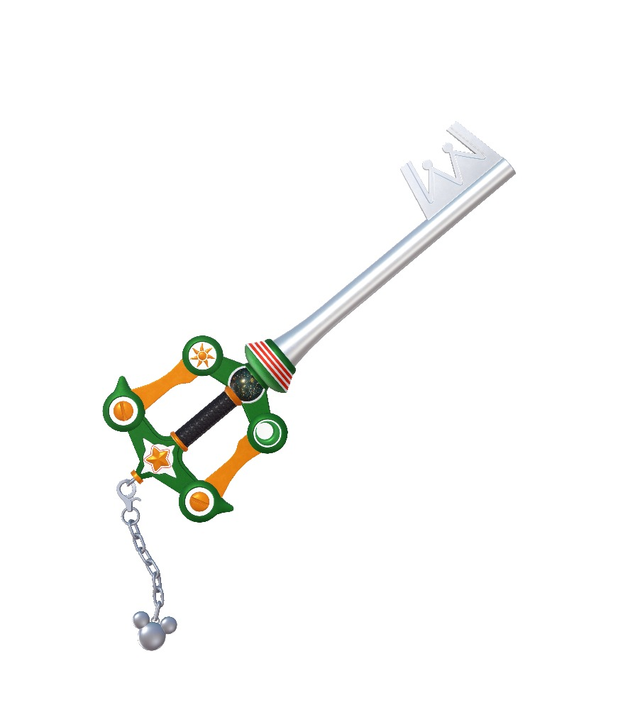 武器「キーブレード」(セブンネットショッピング)」、『KINGDOM HEARTS III』のゲーム内で使用できる