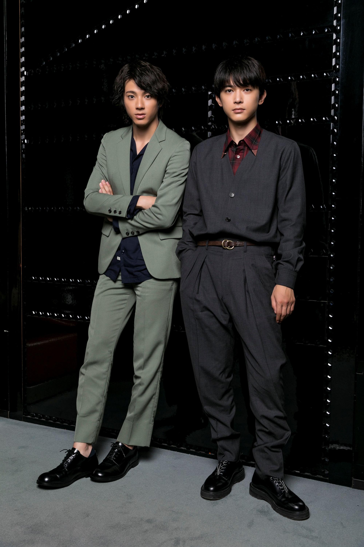 左から、山田裕貴、吉沢亮 撮影=鈴木久美子