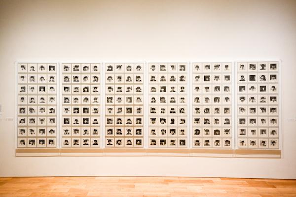 《365日の自画像 1981.7.24-1982.7.23》より 1981-1990年