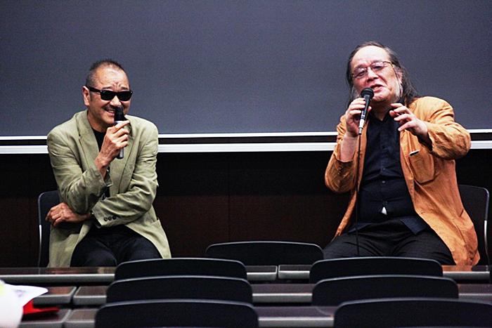 流山児祥(左)と高取英