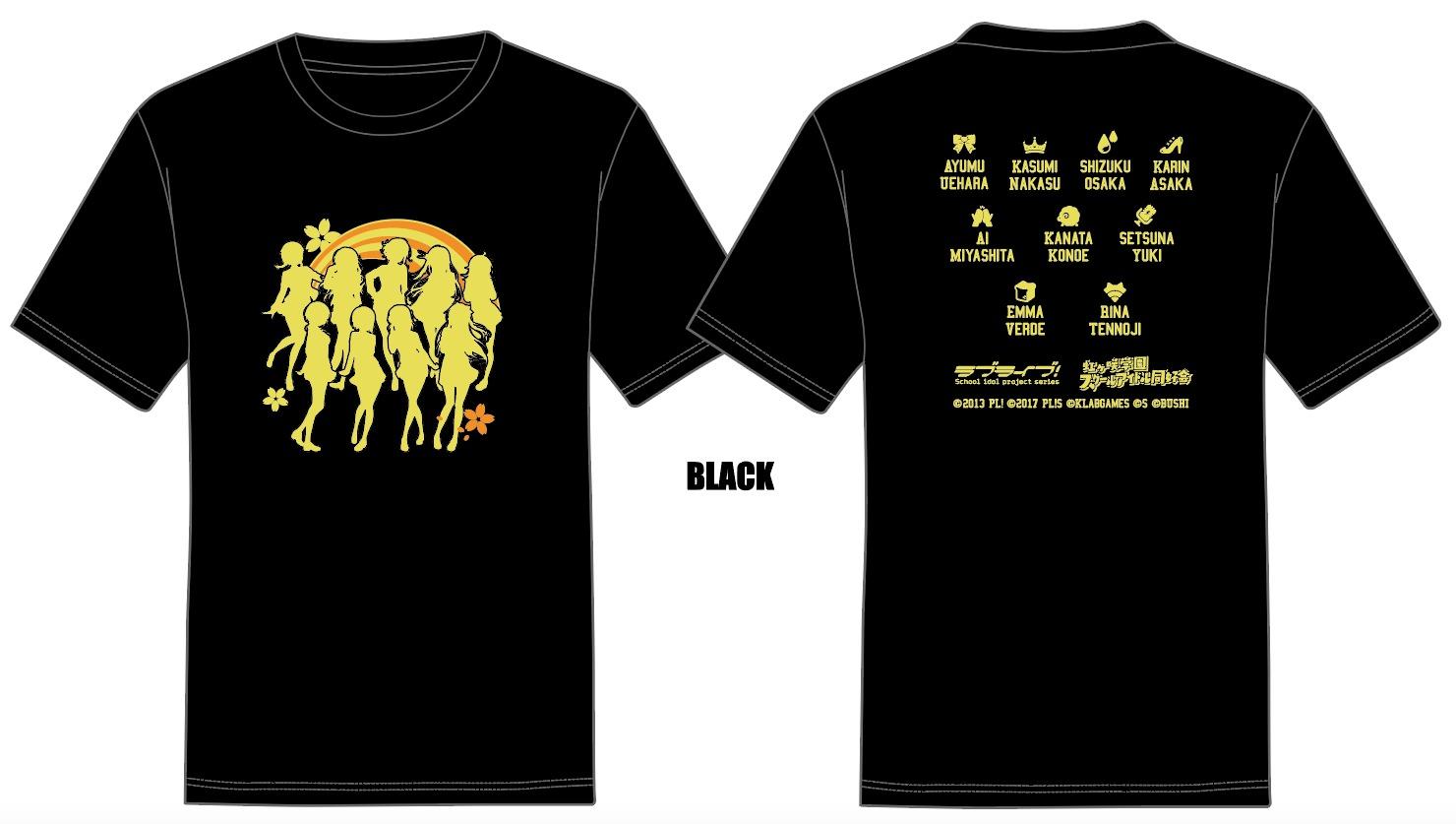 Tシャツ(S/M/L/XL) 各3,000円(税込)