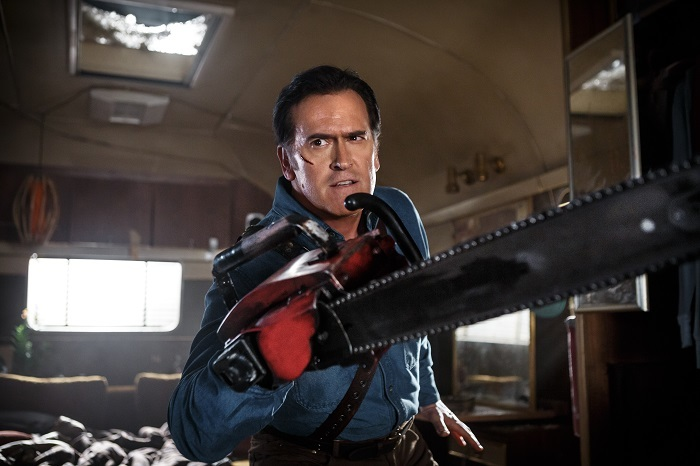 Ash vs Evil Dead © 2015 Starz Entertainment, LLC. All Rights Reserved.
