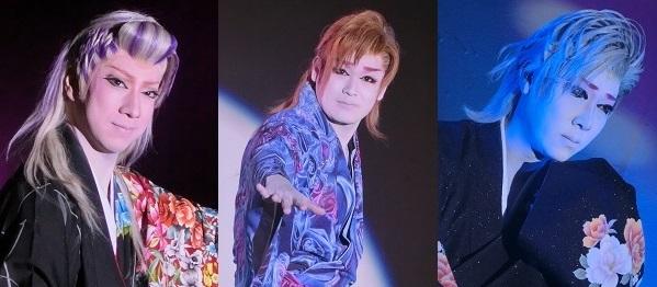 左から柚姫将副座長、千咲大介座長(劇団千咲)、冴刃竜也副座長