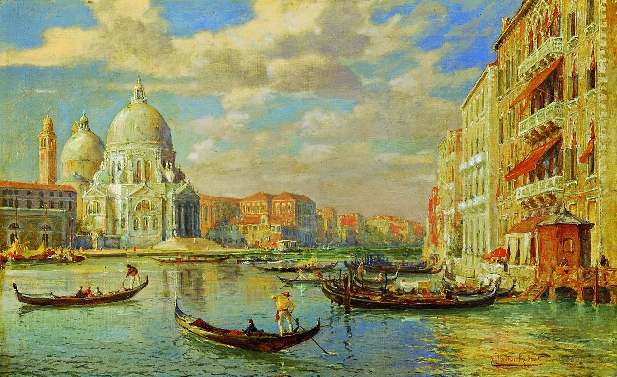 ロベルト・ナドラー「ヴェネツィア」19世紀末