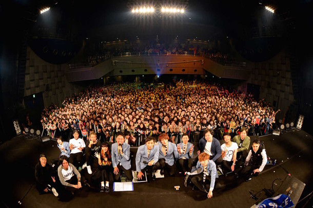 「チュートリアルの徳ダネ福キタル♪SPECIAL LIVE Vol.3」の様子。(撮影:半田安政[Showcase])