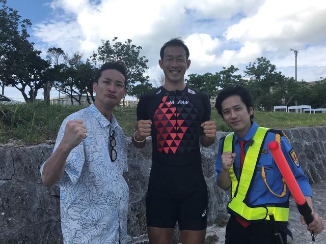 左から松岡昌宏、右代啓祐、二宮和也。(c)日本テレビ
