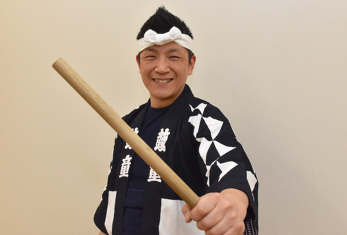 鼓童の船橋裕一郎代表