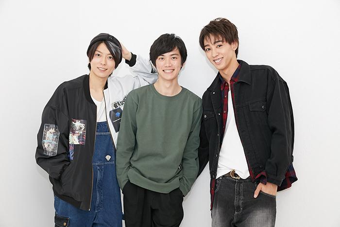 (左から)松井勇歩、田中亨、近藤頌利