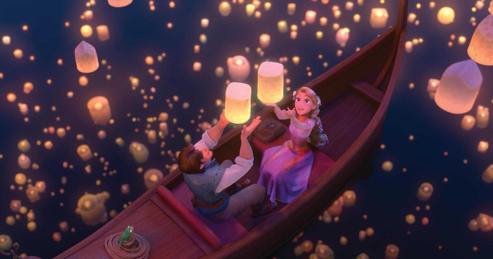 映画『塔の上のラプンツェル』 © Disney