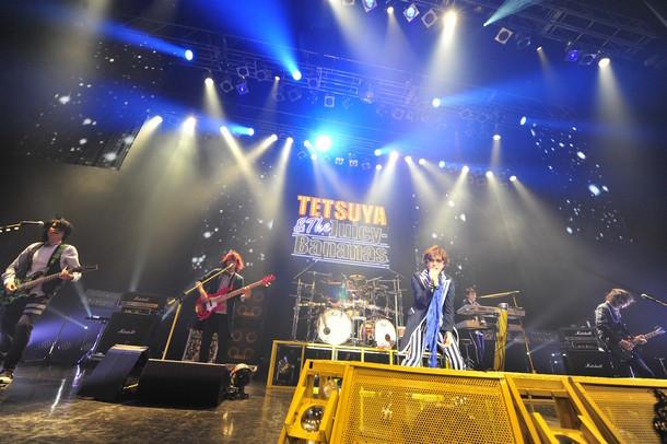 "「TETSUYA LIVE 2015 ""THANK YOU""」の様子。(撮影:今元秀明)"
