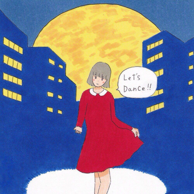 ONIGAWARA配信限定シングル「Let's Dance!!」ジャケット