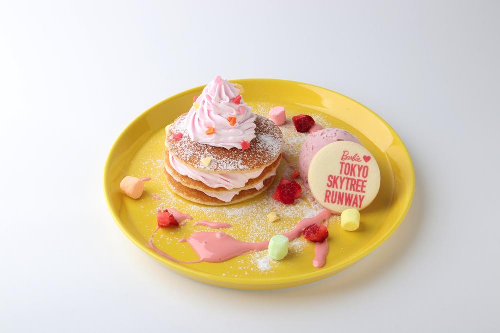しあわせカラフルパンケーキ ¥1,100